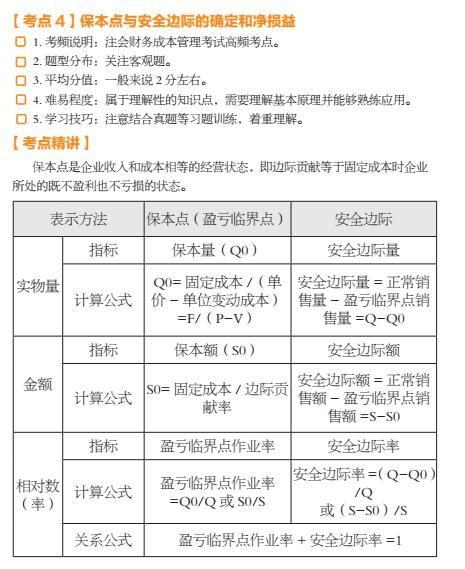 2017注册会计师考试财管第四期预测报命中真题